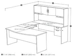 desk how to measure l shaped desk u small u shaped kitchen