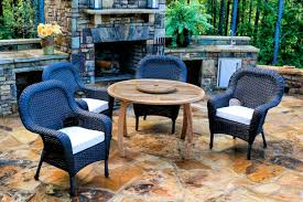 Dining Table With Rattan Chairs Jakarta Teak 5 Pc Dining Set Teak Outdoor Furniture