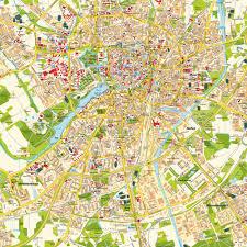 Map Com Stadtplan Münster Nrw Deutschland Karte Und Routenplaner Von