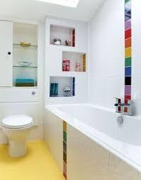 sleek modern kids u0027 bathroom with interesting lighting choice kid