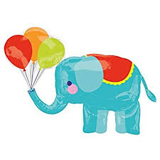 circus balloon circus tent mylar birthday party balloon toys