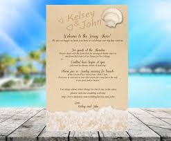 wedding itinerary sku403 destination wedding itinerary ceremony program recept