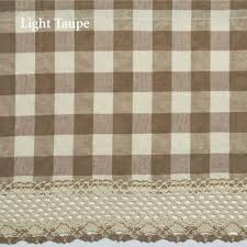 plaid area rugs buffalo check tier window treatment
