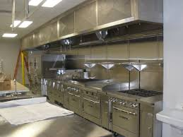 commercial kitchen in house
