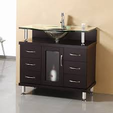 shop virtu usa modern bathroom vanity espresso integrated single