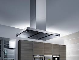 kitchen island extractor hoods cooker fault diagnosis