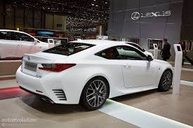 lexus sport lexus rc 350 f sport steers its way into geneva live photos