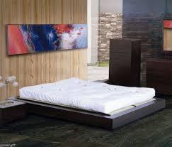 Hopen Bed Frame For Sale Japanese Bed Frame Janeiro Rustic Finish Bed Frame Set