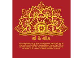Traditional Wedding Invitation Card Marathi Wedding Card Clipart 11