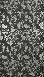 3x laura ashley oriental garden charcoal wallpaper in