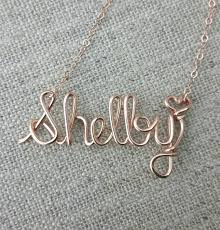 wire name necklace gold necklace wire name necklace personalized jewelry