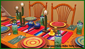 mexican centerpiece dinner decorations