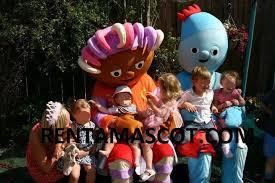 25 iggle piggle upsy daisy cbeebies fancy dress mascot sized