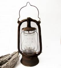 Old Lantern Light Fixtures by Antique Miners Mine Lantern Antique Mining Miners Lamp About 1940