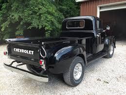 dark green jeep cj eddie essenpreis u0027 1951 chevy 3600 lmc truck life