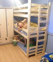 Triple Bunk Beds Tri Bunk Bed  High Bunk Beds Two Widths Can - High bunk beds