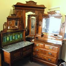 art nouveau bedroom art nouveau walnut 3 piece bedroom suite wardrobes and bedroom