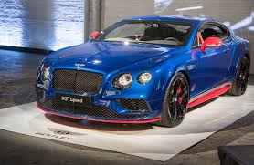 bentley continental supersports 2017 2017 bentley continental gt speed priced from 240 300