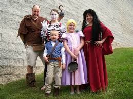 Adam Family Halloween Costumes by Bird On A Cake Tangled Family Halloween Costumes