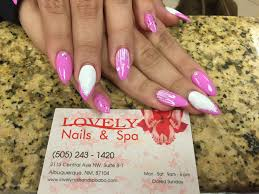 lovely nails and spa gel nails manicure pedicure albuquerque nm
