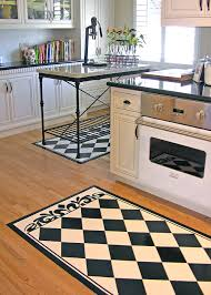 Black Kitchen Rugs Black And White Kitchen Floor Mat Kitchen Floor