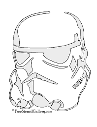 Easy Joker Pumpkin Carving Patterns by Stormtrooper Helmet Stencil May The Force Be Will You