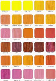 shades of orange names clanagnew decoration