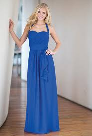 bridesmaid dresses in every shade of blue wedding dresses and