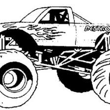 madusa monster truck coloring page archives mente beta most