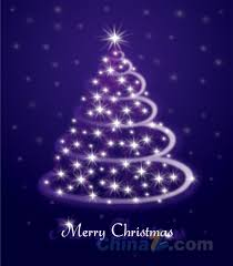 purple christmas card design vector free vector graphic download