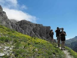 Cabane En Montagne Randonnées En Montagne Avec Détours En Montagne