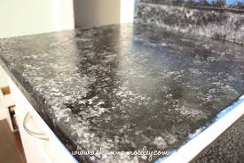 How To Paint Faux Granite - giani granite countertop paint review ask anna