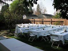 Ideas For Backyard Weddings by Backyard Dinner Party Celebrations Pinterest Backyard