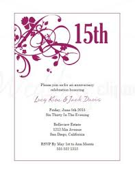 printable magenta sweet pea wedding anniversary invitations template