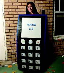 duck tape cell phone costume spooky ideas pinterest duck