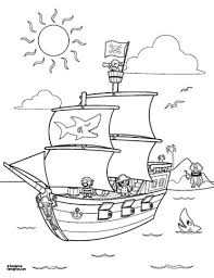 pirate ship coloring page great site for kids fun stuff