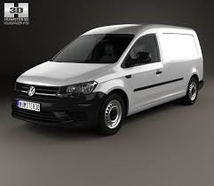 volkswagen caddy 2005 volkswagen caddy maxi panel van 2015 3d model hum3d