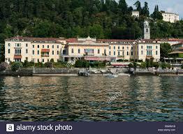 grand hotel villa serbelloni bellagio view from the lake stock