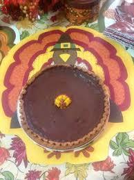 chocolate pumpkin pie recipe the chew abc thanksgiving