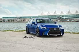 lexus gs 350 black ultrasonic blue lexus gs350 fsport velgen wheels vmb8 satin