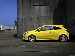 opel yellow opel corsa opc 2010 picture 15 of 24
