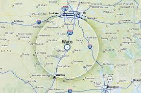 map waco map of waco rocky shores resort