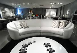 Curved Sofa Leather Sofas Rusco 1 White Leather Lounge Suite Sofa Sofa