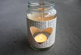 Mason Jar Tea Light Holder Diy Glass Jar Tea Light Holder Morning Creativity