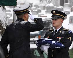 Army Service Flag New York National Guard Hosts Military Funeral Honors Training