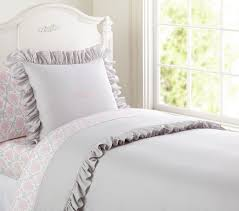 ruffle collection duvet cover pottery barn kids