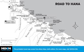 Hawaii State Map by Printable Travel Maps Of Maui Moon Travel Guides