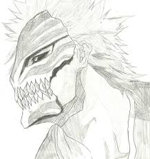 hollow ichigo draw by twl0212 on deviantart