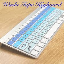 things to do with washi tape this diy washi tape keyboard is literally the cutest thing ever