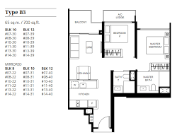 bedroom floorplan le quest floor plans le quest condo at bukit batok west avenue 6